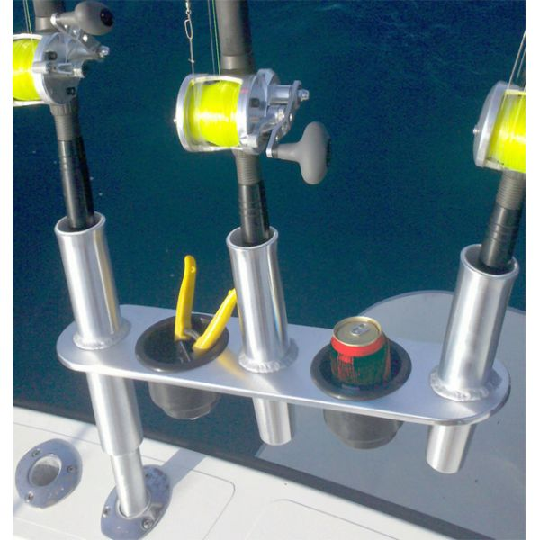 Tigress Triple Aluminum Rod Holder with Cups
