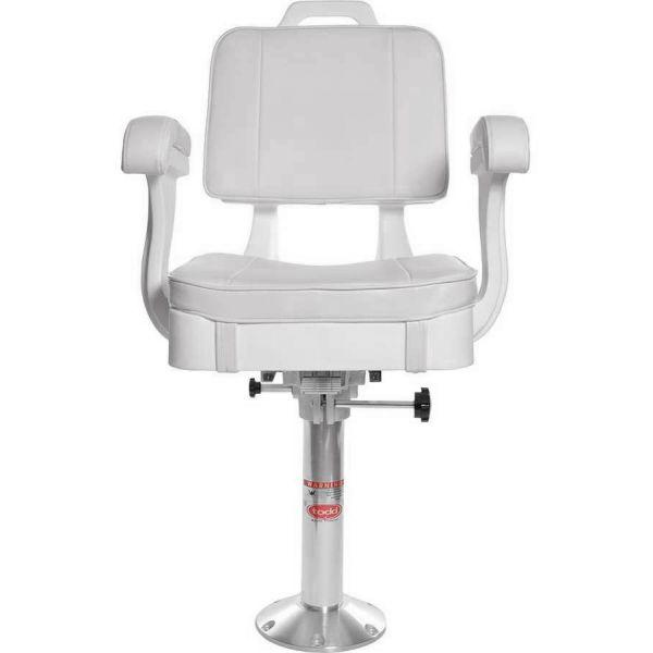 Todd Hatteras Ladderback Seat, Cushion, Slider & Pedestal Package