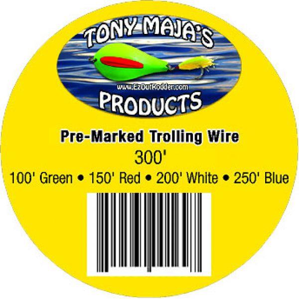 Tony Maja Pre-Marked Trolling Wire