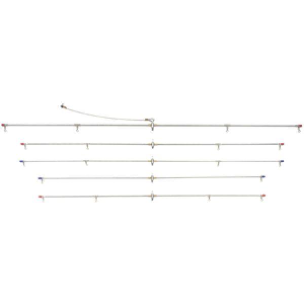 Tournament Cable Medium Flex Titanium Spreader Bars