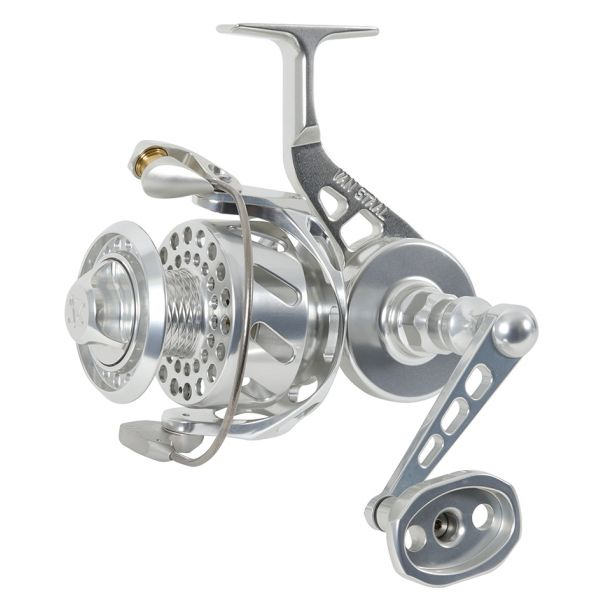 Van Staal VSB200XP VS X Bail Spinning Reel Polished Silver VSB200SXP