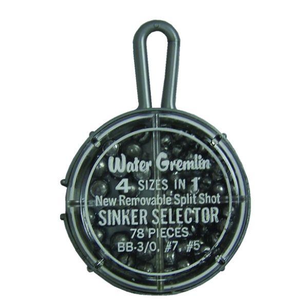 Water Gremlin 700-R Round Split Shot Selector 78pc