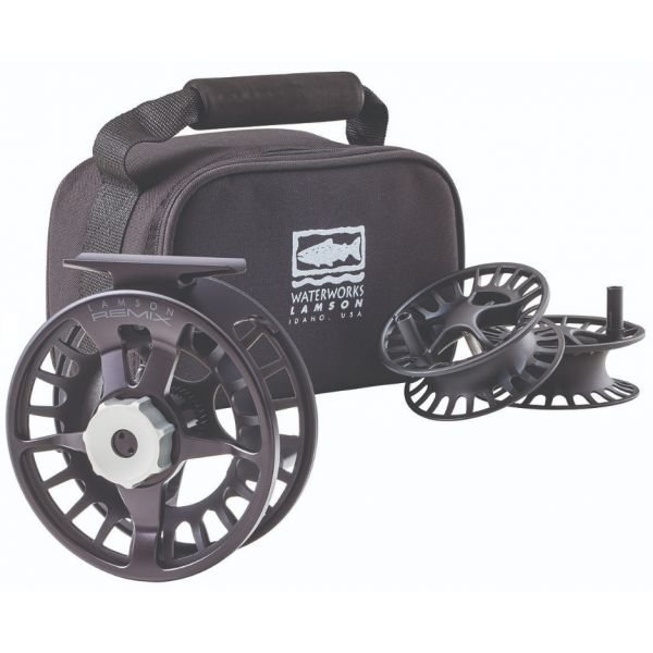 Waterworks Lamson Remix Fly Fishing Reel and Spools - 3 Pack