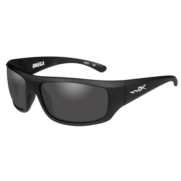 Wiley X Omega Sunglasses - Matte Black/Smoke Grey