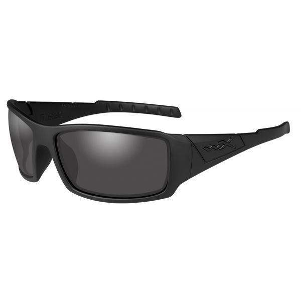 Wiley X Twisted Sunglasses - Matte Black/Polarized Smoke Grey