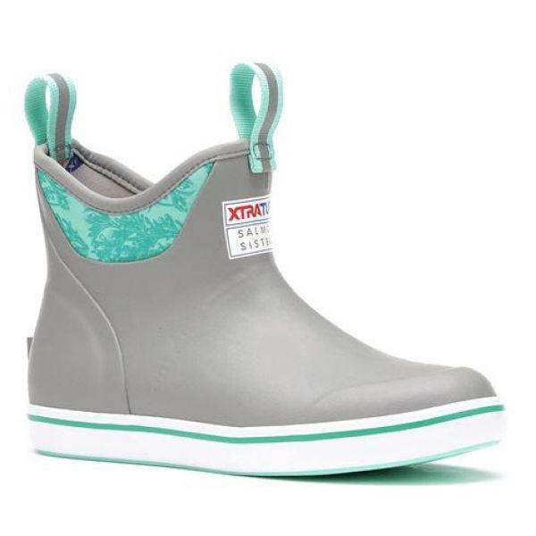 Xtratuf Women's Ankle Deck Boot - Gray Kelp