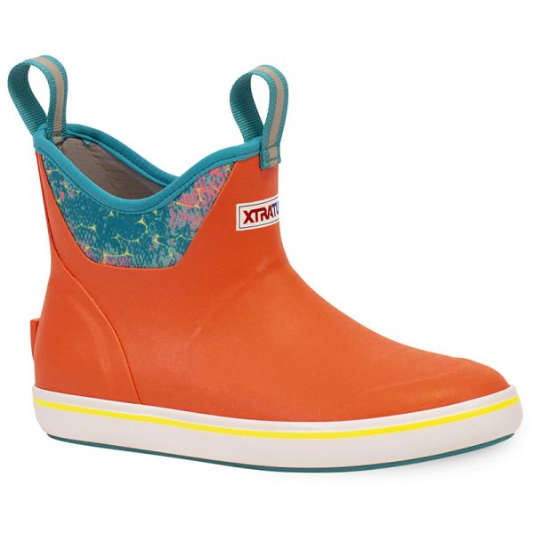 Xtratuf Women's Ankle Deck Boots - Coral Coho
