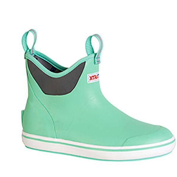 Xtratuf Women's Ankle Deck Boots - Seafoam