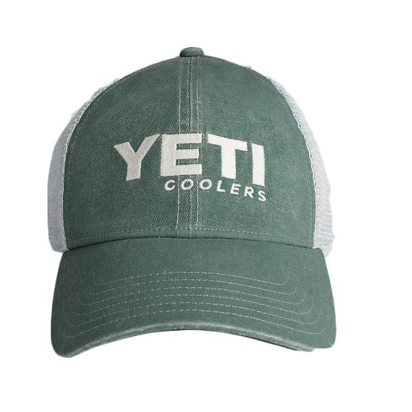 YETI Coolers Washed Low-Pro Trucker Hat - Green