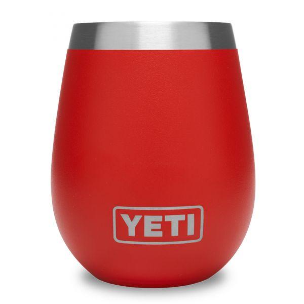 YETI Rambler 10oz Wine Tumbler - Canyon Red
