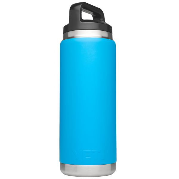 YETI Rambler Bottle 26oz Tahoe Blue