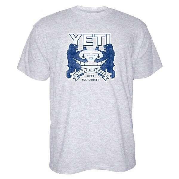YETI Coat of Arms Short Sleeve T-Shirt