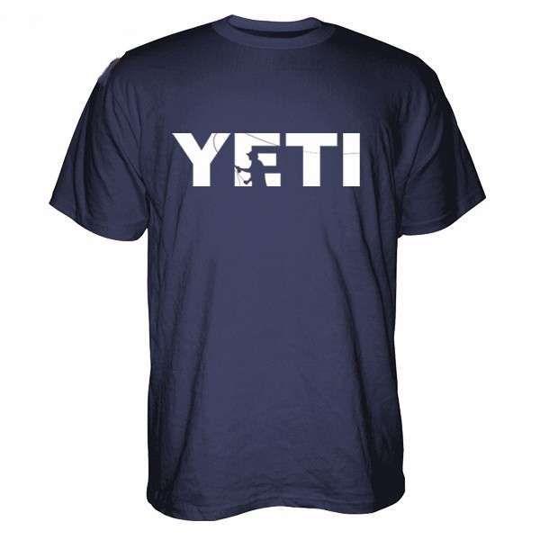 YETI Double Haul Casting Short Sleeve T-Shirt - Medium