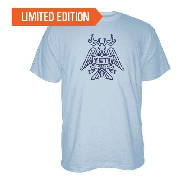 YETI Horn, Fin, and Feather Short Sleeve T-Shirt - X-Large