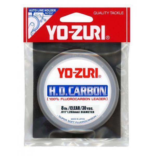 Yo-Zuri HD Fluorocarbon Leader 30yd Spools - Clear