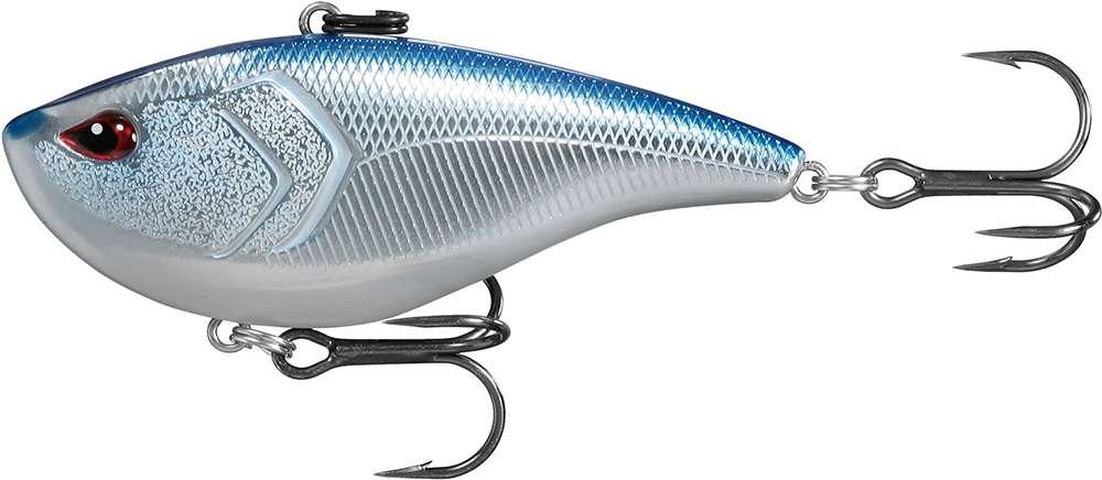 13 Fishing El Diablo Lipless Crankbait - 3in - Chrome Blue Back thumbnail