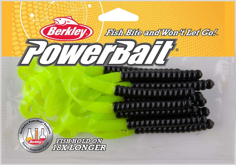 Berkley Powerbait Power Worm Soft Bait - 7in Motor Oil Red Fleck