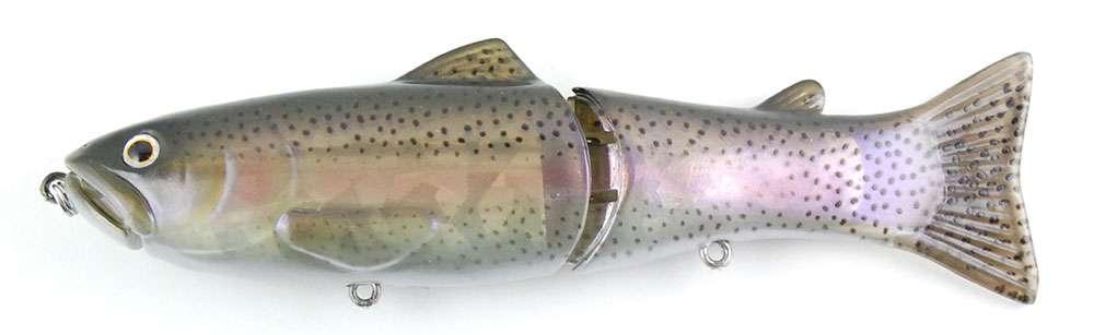 Deps Slide Swimmer 175 Glide Bait Butch Brown Hatchery Trout