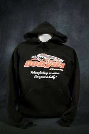 Dobyns Rods Fish Logo Hoodie - HOODIE BLACK L