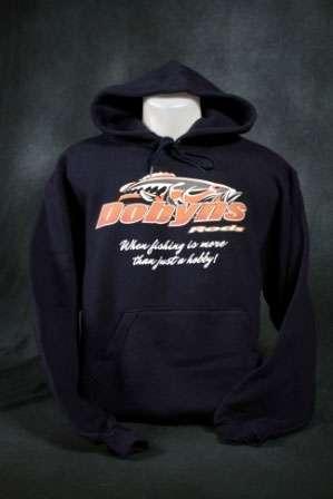 Dobyns Rods Fish Logo Hoodie - HOODIE NAVY L