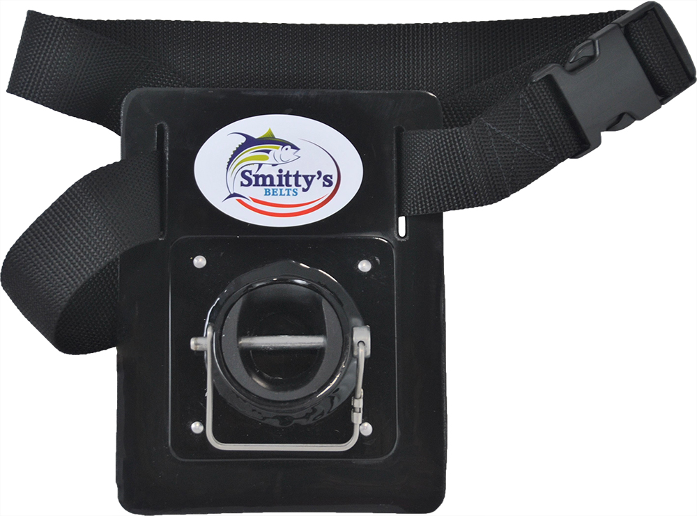 Smitty's Belts Belly Button Fighting Belt - Black