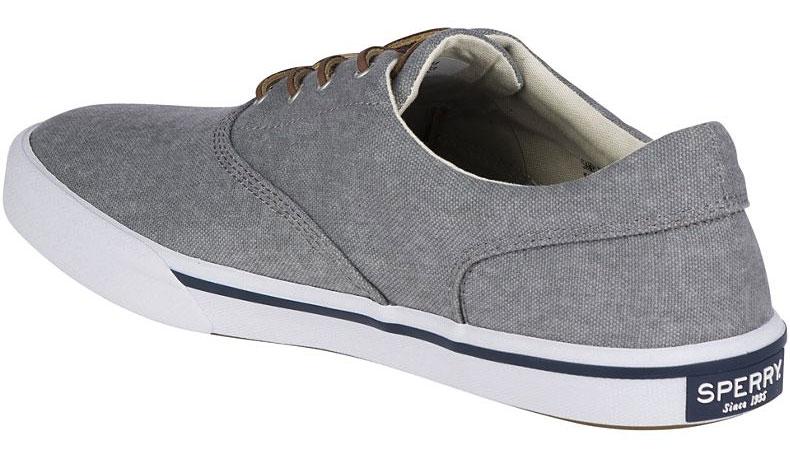 Sperry Striper II CVO Sneakers Grey STS17393 MEN Size 12 NEW