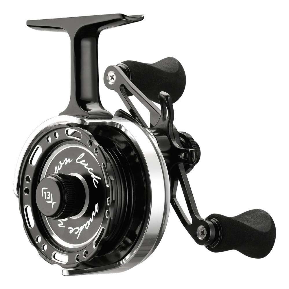 13 fishing 60612015 lh black betty 6061 ice reel for 13 fishing black betty