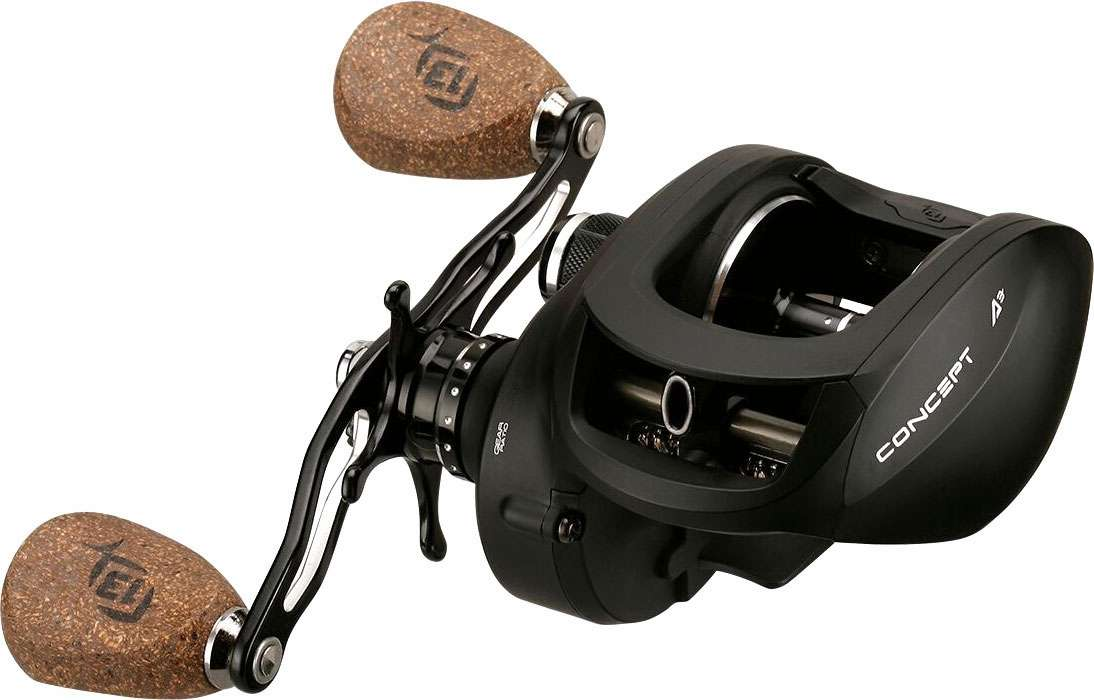 13 fishing a3 6 3 lh concept a3 reel tackledirect for How to reel in a fish