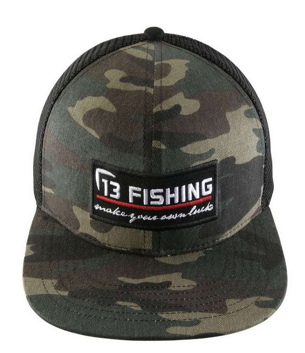 13 fishing the original brochacho cap flat bill for 13 fishing apparel