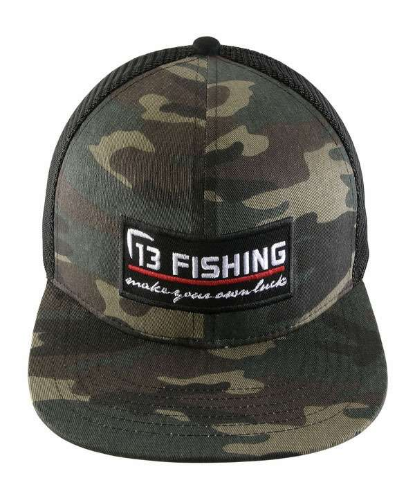 13 fishing brochacho trucker cap tackledirect for 13 fishing apparel