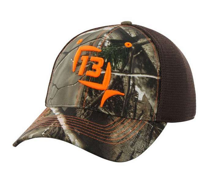 13 fishing mr tucker realtree ap cap camo tackledirect for 13 fishing apparel