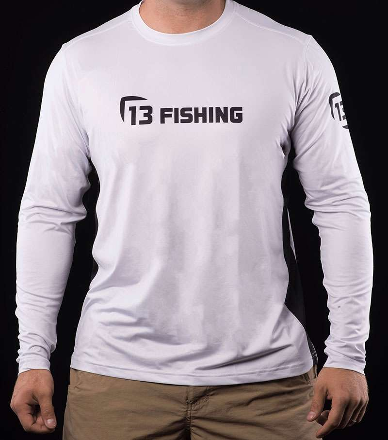 13 fishing plsmtweb s man tooth performance ls t shirt