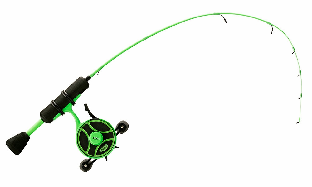 Model RP27L-LH 13 Fishing Radioactive Pickle In-line Ice Combo NEW