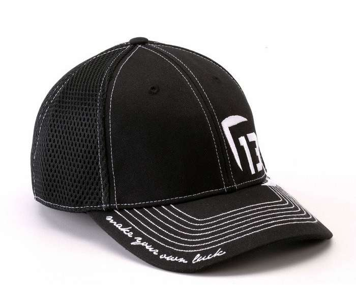 13 fishing the professional flexfit cap black tackledirect for 13 fishing apparel