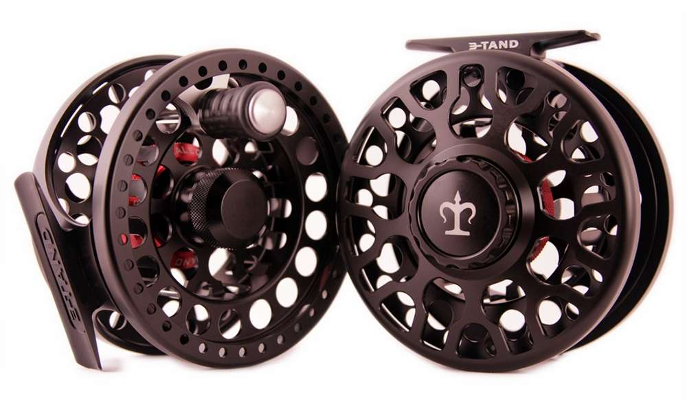 3-Tand T-100 Fly Reel - Black thumbnail