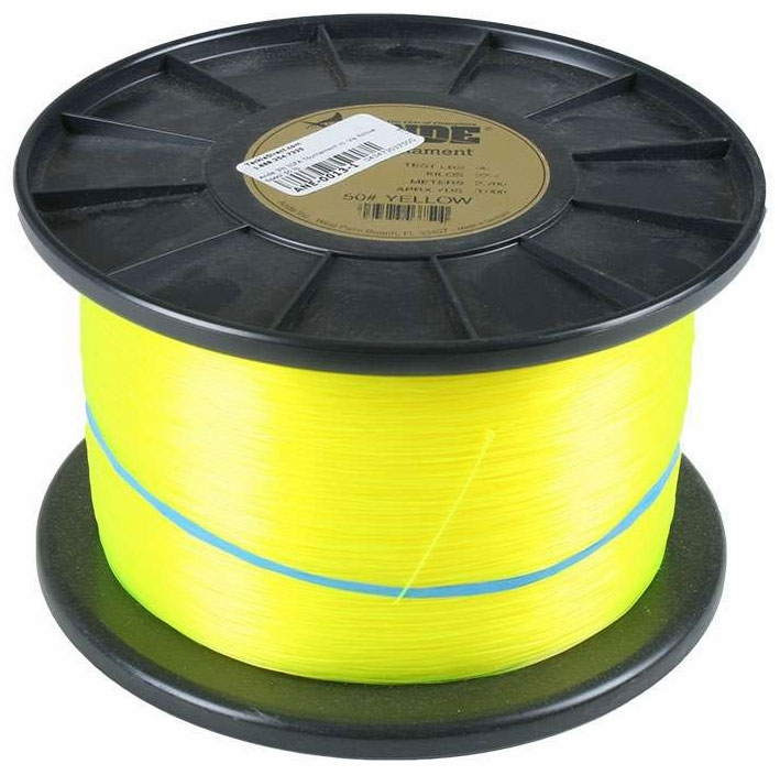 Ande igfa hi vis yellow 3 lb spool for Ande fishing line