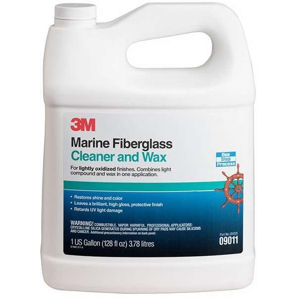 3m marine 9011 fiberglass cleaner and wax gallon