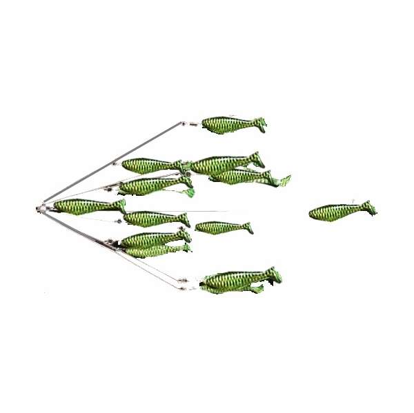 9er 39 s shad rig lures tackledirect for Shad fishing lures