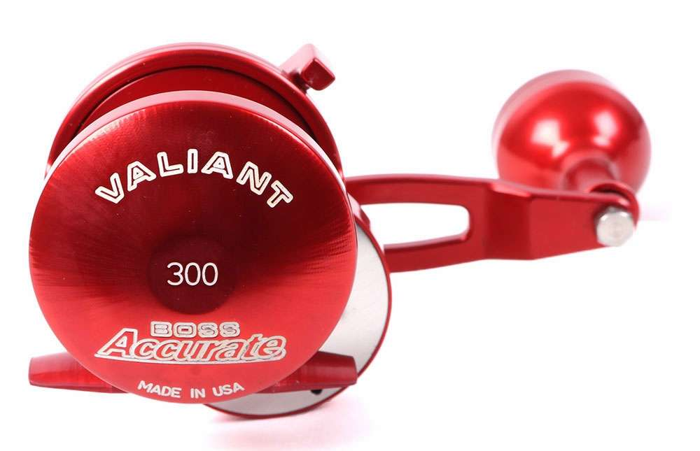 Accurate bv 300l r boss valiant conventional reel