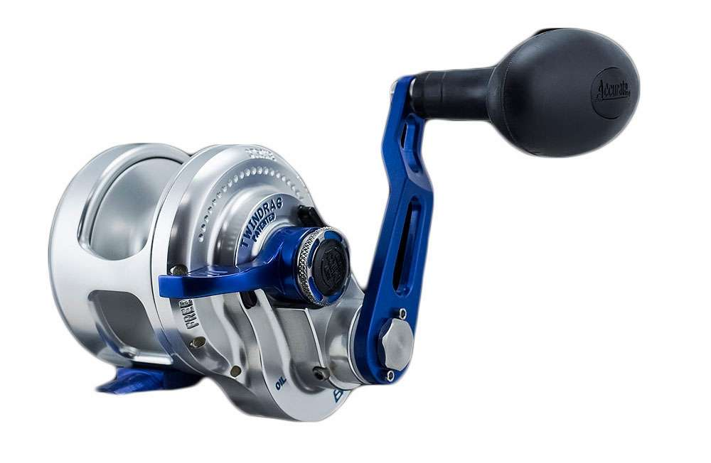 Accurate bx 500nlbls boss extreme single speed l h reel