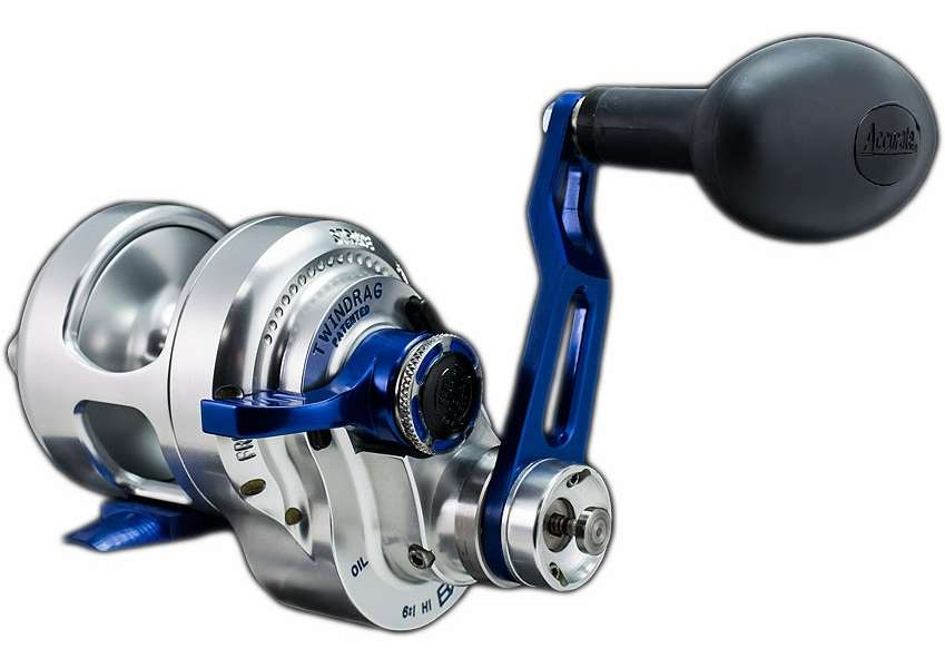 Accurate bx2 400nbls boss extreme 2 speed reel