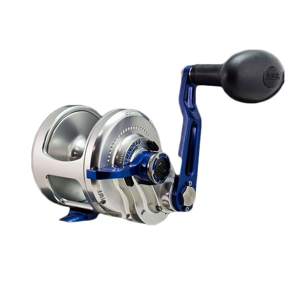 Accurate bx 600bls bx boss e series reel silver for Accurate fishing reels
