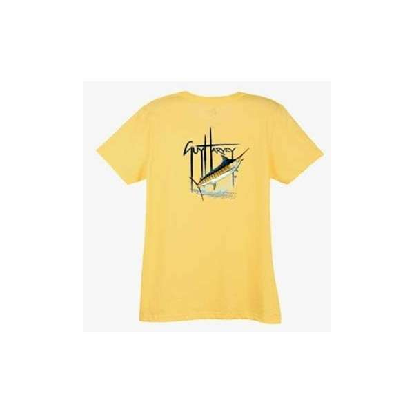 Aftco LTH3294 Guy Harvey Blue Womens Tee Shirt - Small AFT-0202-1