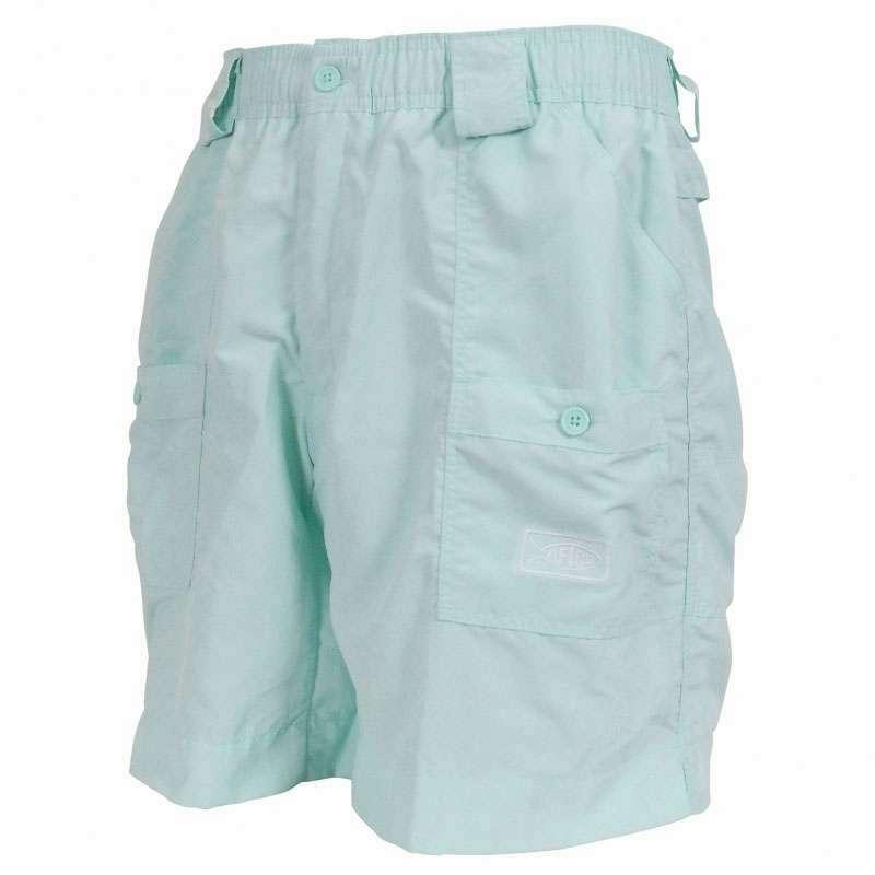 Aftco m01l original long fishing shorts mint tackledirect for Aftco original fishing shorts