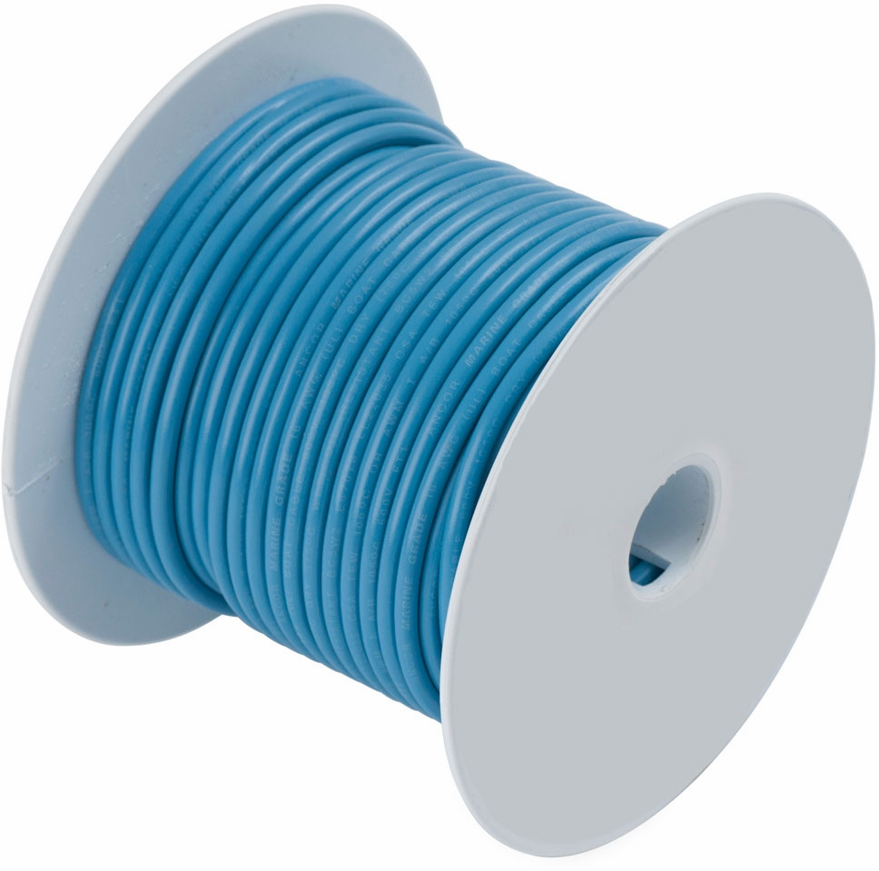 16-Gauge, Black, 500-Feet Ancor 102050 Marine Grade Electrical Primary Tinned Copper Boat Wiring