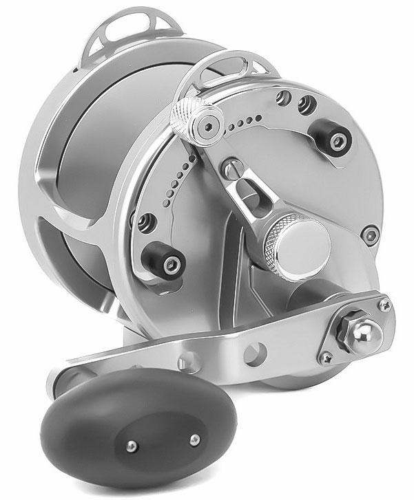 Avet hx 4 2 single speed lever drag casting reel silver for Avet fishing reels