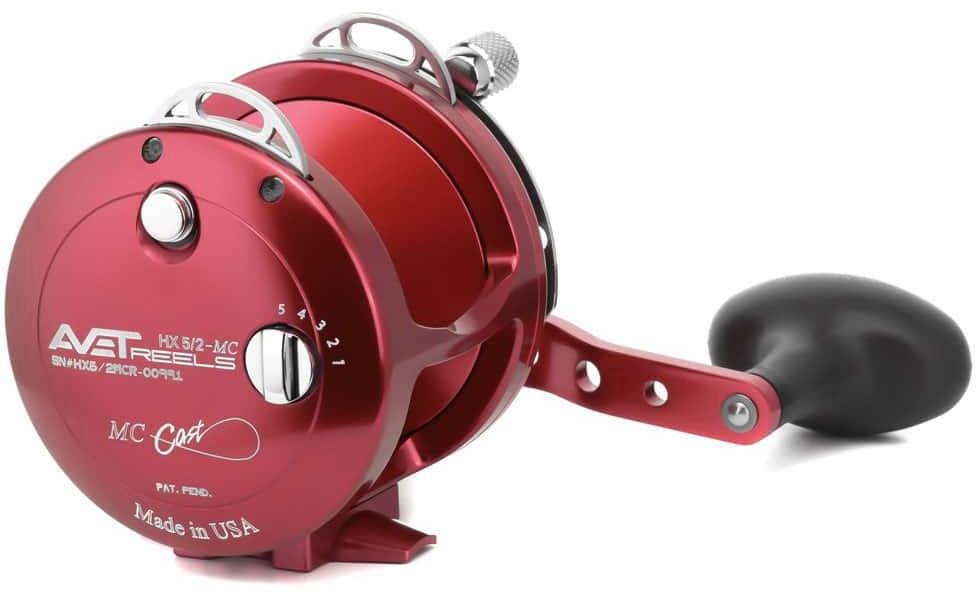 Avet Reels HX 5/2 MC RED