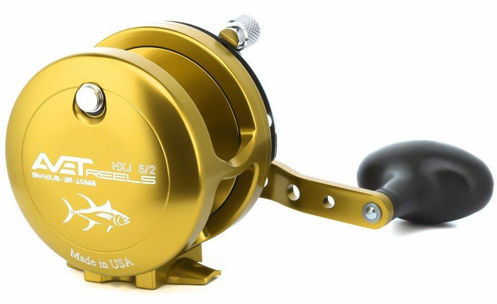 Avet Reels HXJ 5/2 GOLD L/H
