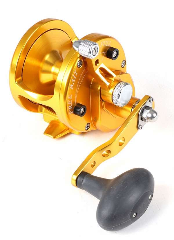 Avet JX 60 Single Speed Sailfish Cam Reel - Gold -  Avet Reels