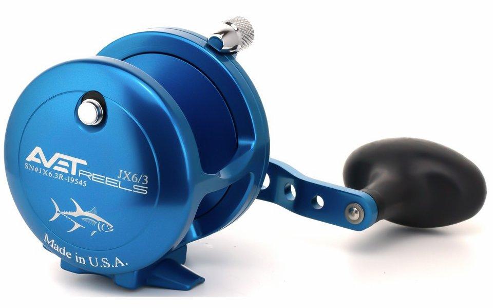 Avet Reels JX 6/3 L/H BLUE